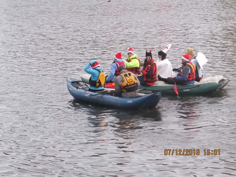 можно ли плавать на надувной лодке по реке