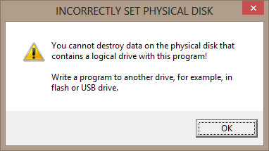 From this disk running the program Fomsoft HDD Eraser.